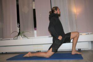 Übung bei Hüft und Rückenschmerz